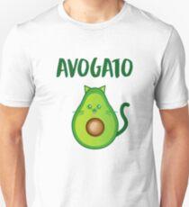 Avogato Addict shirt for avocato and catlover Unisex T-Shirt