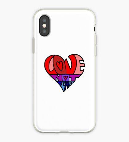 #LoveNotFear iPhone Case