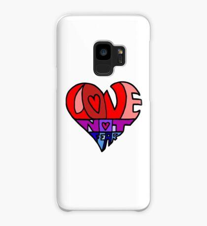 #LoveNotFear Case/Skin for Samsung Galaxy