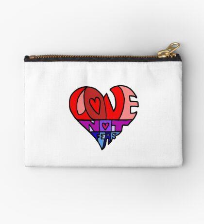 #LoveNotFear Studio Pouch