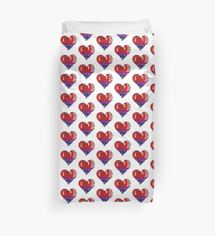 #LoveNotFear Duvet Cover