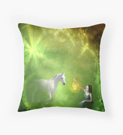 I Will Bring You Home Throw Pillow
