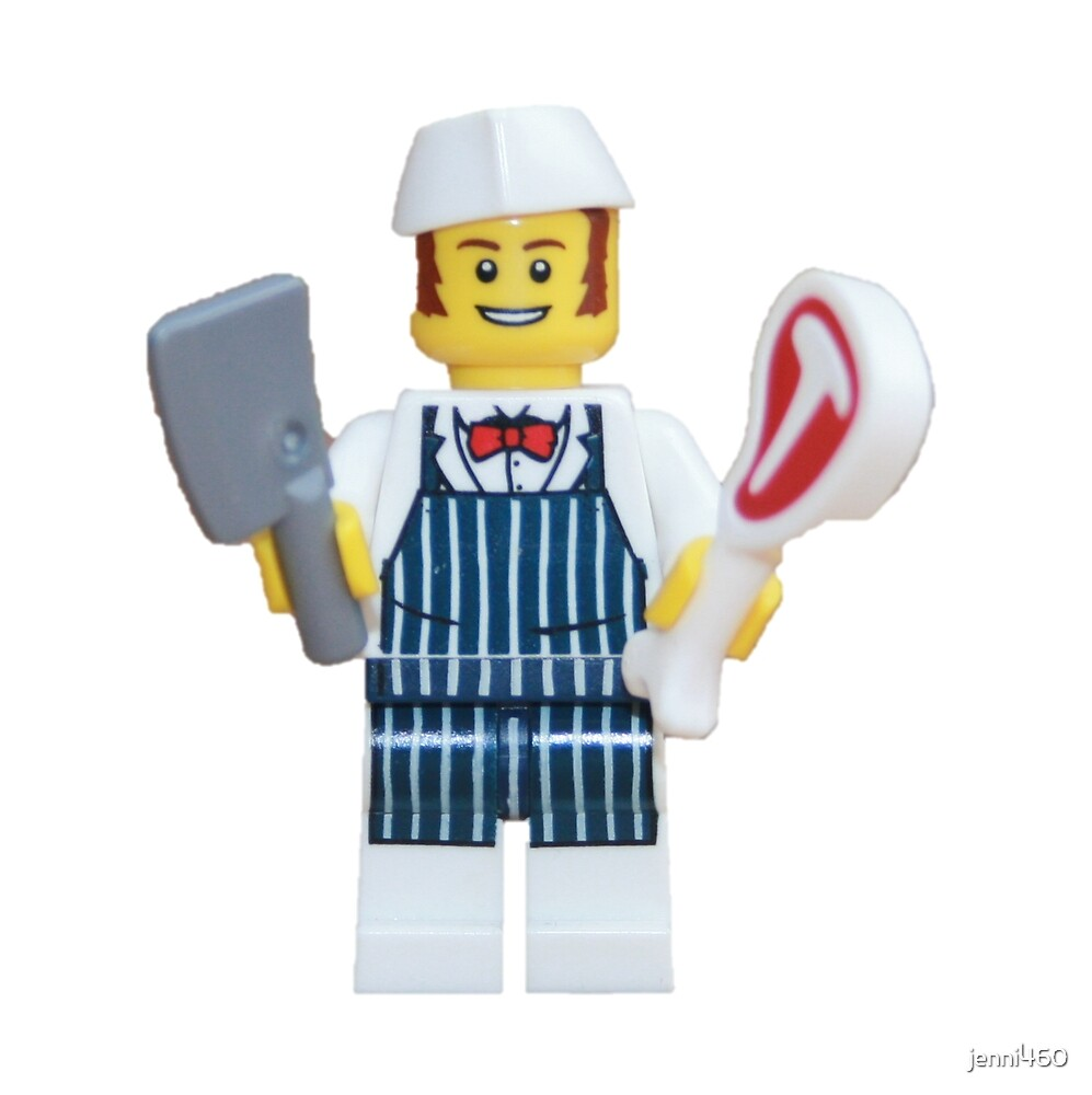 LEGO Butcher by jenni460