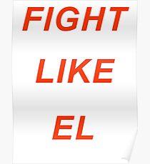 Póster Lucha como El