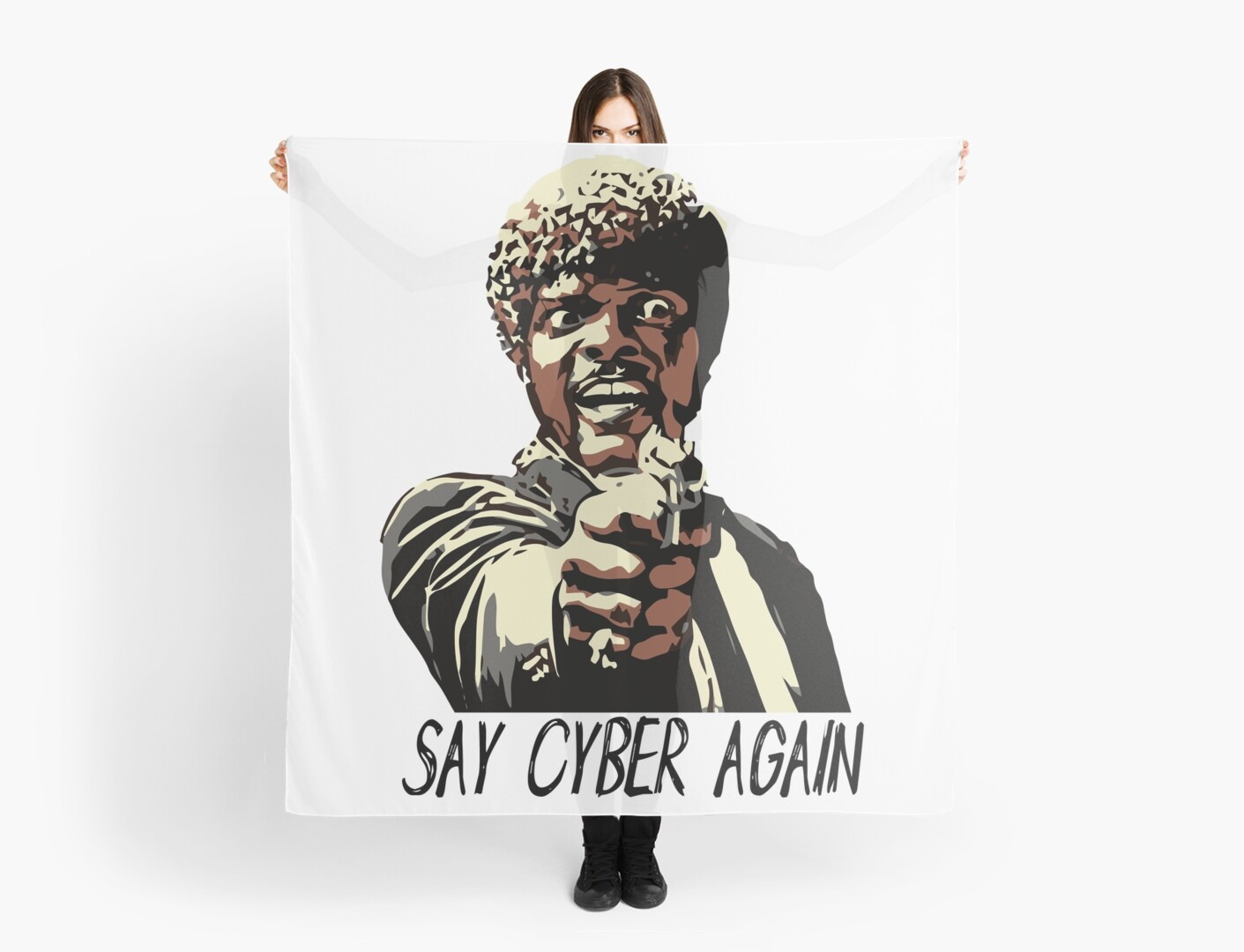 SAY CYBER AGAIN by Grant Sewell