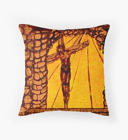 For the love of JESUS Throw Pillow