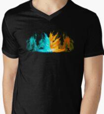 Avatar - Agni Kai T-Shirt mit V-Ausschnitt für Männer