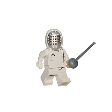 LEGO Fencer by jenni460