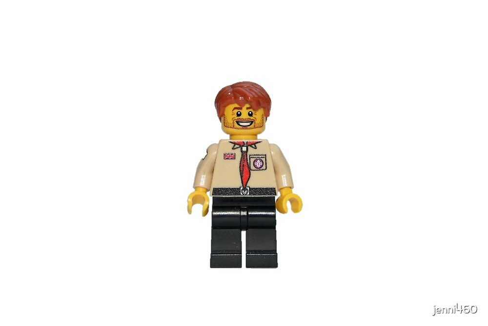 LEGO Male UK Scout Leader by jenni460