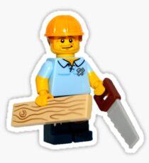 LEGO Carpenter Sticker