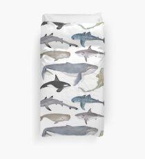Wale und Haie Bettbezug
