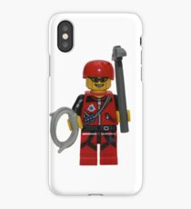 LEGO Climber with Ice Axe and Rope iPhone Case