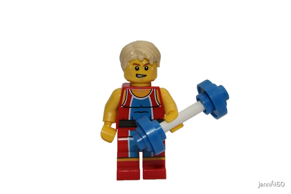 LEGO Weightlifter by jenni460