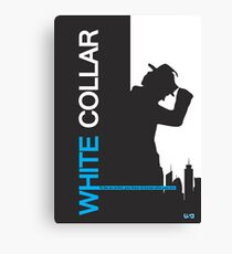 White Collar Canvas Print