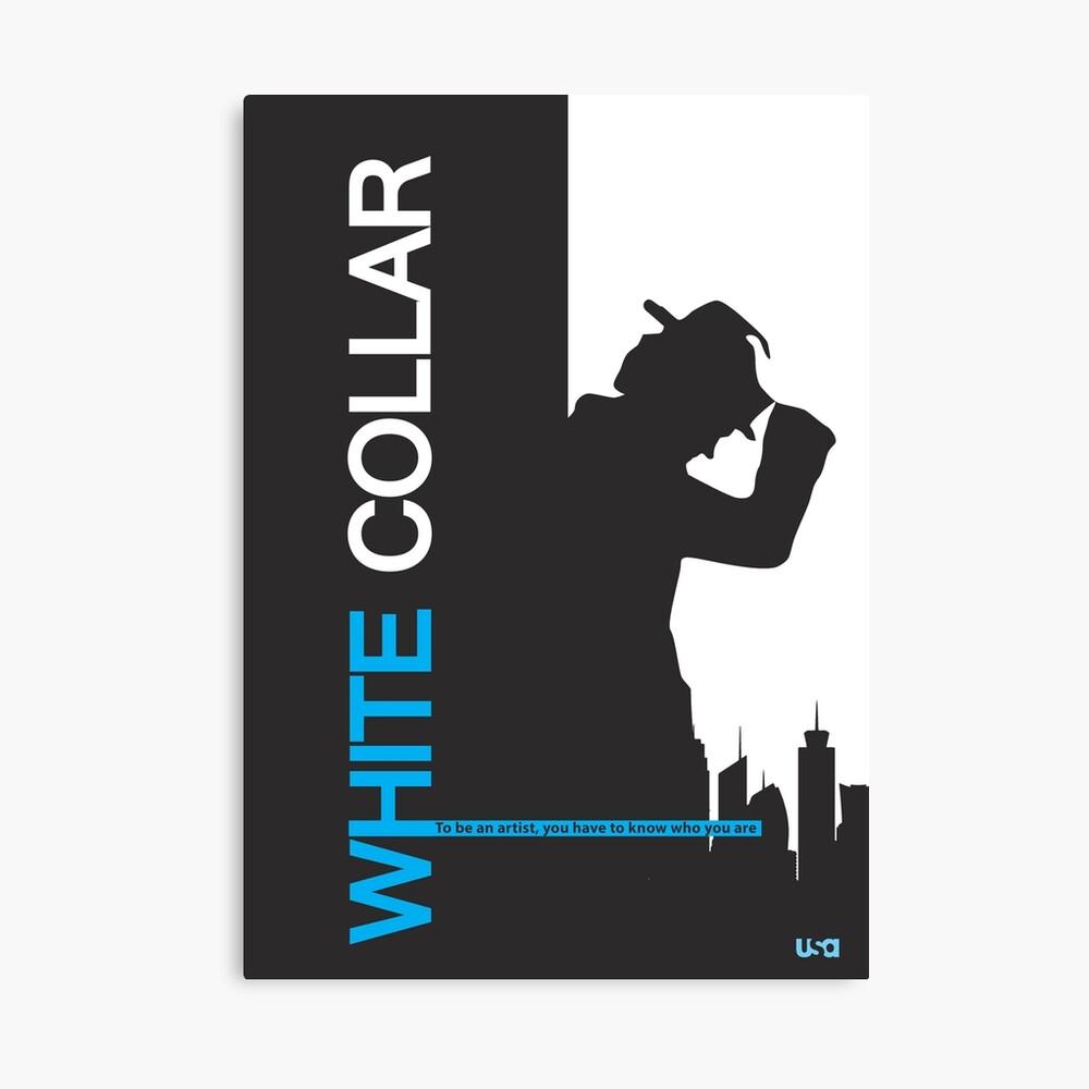 White Collar Canvas Print