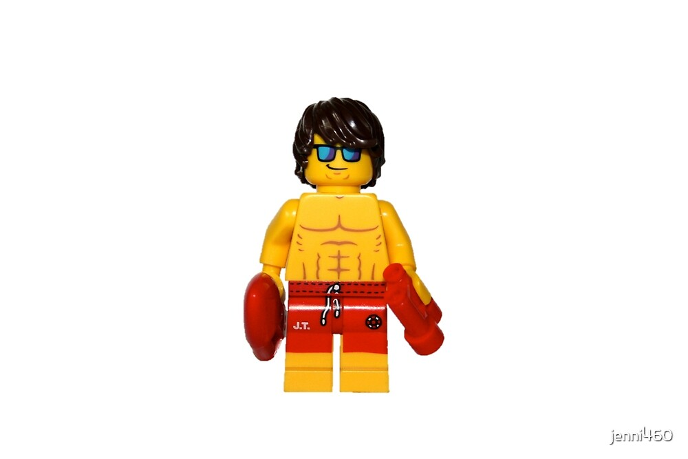LEGO Lifeguard by jenni460