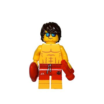 LEGO Lifeguard by jenni460