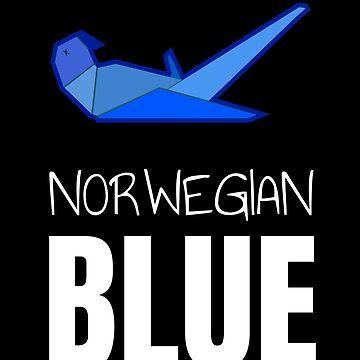 Parrots Budgie T Shirt & Parakeet TShirts. Funny Norwegian Blue Parrot T-Shirt Macaw Bird Tee For Nature Friends by IATV