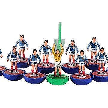 Scotland '86 world cup subbuteo team by vancey73