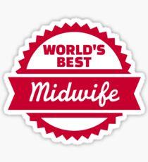 World's best Midwife Sticker