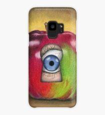 Curiosity killed the apple Case/Skin for Samsung Galaxy