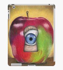 Curiosity killed the apple iPad Case/Skin