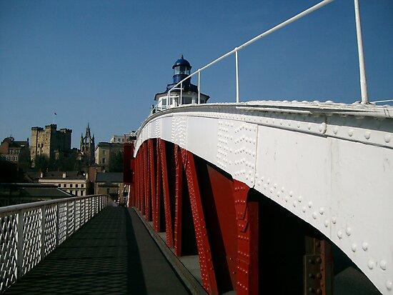 Swing Bridge Newcastle by Ladymoose