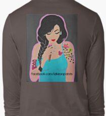 Lakeon Paints tattooed painter girl T-Shirt