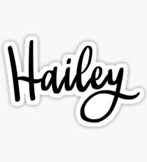 Hailey Sticker