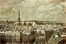 Faded Memories-Paris by Jeff Clark