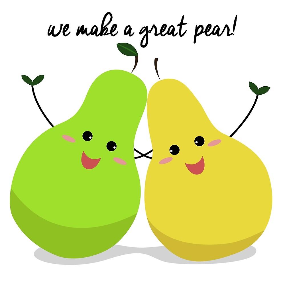 We make a great pear! | Food Pun\
