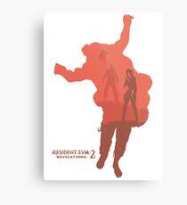 Resident Evil Revelations 2 Canvas Print