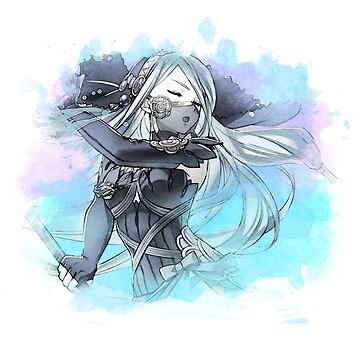 Fire Emblem - Azura by Ravravine