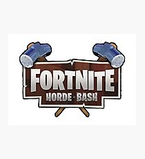 Fortnite Horde Bash Photographic Print