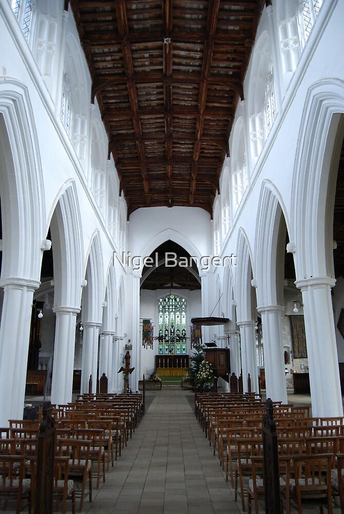 Central Aisle St John the Baptist by Nigel Bangert