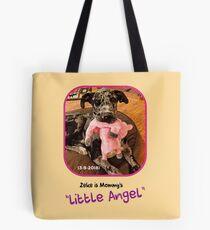 """""""Zeke is Mommy's Little Angel"""" Tote Bag"""