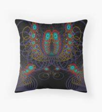 fractal sea creature Throw Pillow