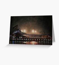 Fog Lights Greeting Card