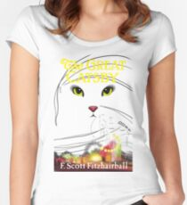 The Great Catsby Women's Fitted Scoop T-Shirt