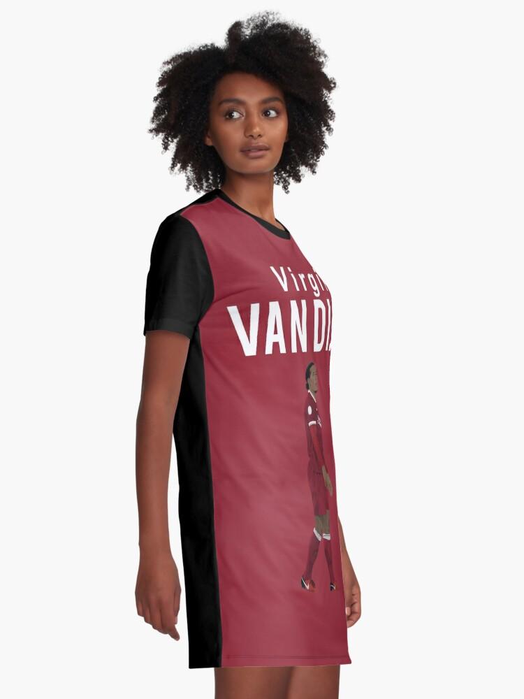 promo code 63c51 d80a3 Virgil Van Dijk - Liverpool | Graphic T-Shirt Dress