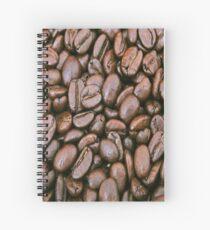 Coffee grains Spiral Notebook