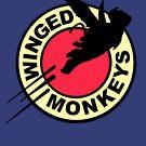 Winged Monkeys by trheewood