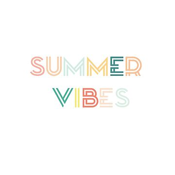 Colorido verano vibraciones diciendo de jashirts