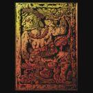 MESOAMERICAN MAYAN FIGURE by Larry Butterworth