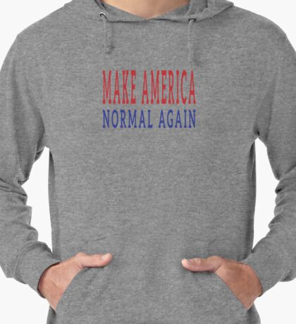 Make America Normal Again Lightweight Hoodie