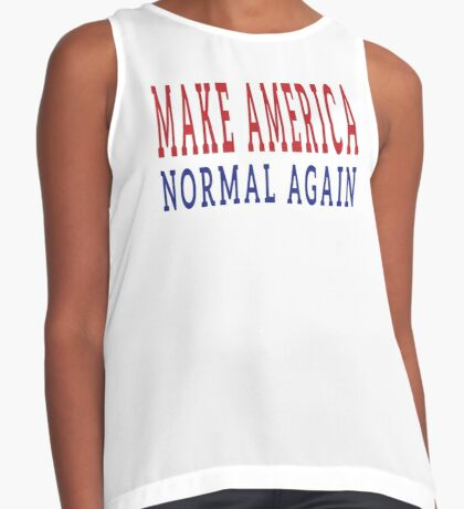 Make America Normal Again Contrast Tank