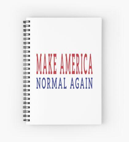 Make America Normal Again Spiral Notebook