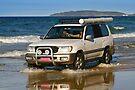 Four-wheel driving on Rainbow Beach by Darren Stones
