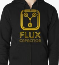 Flux Capacitor Zipped Hoodie