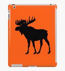 Moose: Hunter Orange iPad Case/Skin